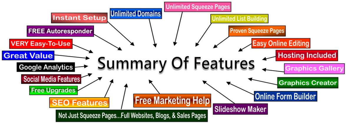 Squeeze Page System With Free Autoresponder More - Free squeeze page templates